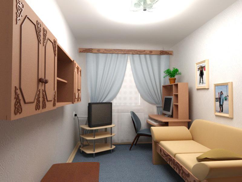 как расставить мебель в квартире студии фото