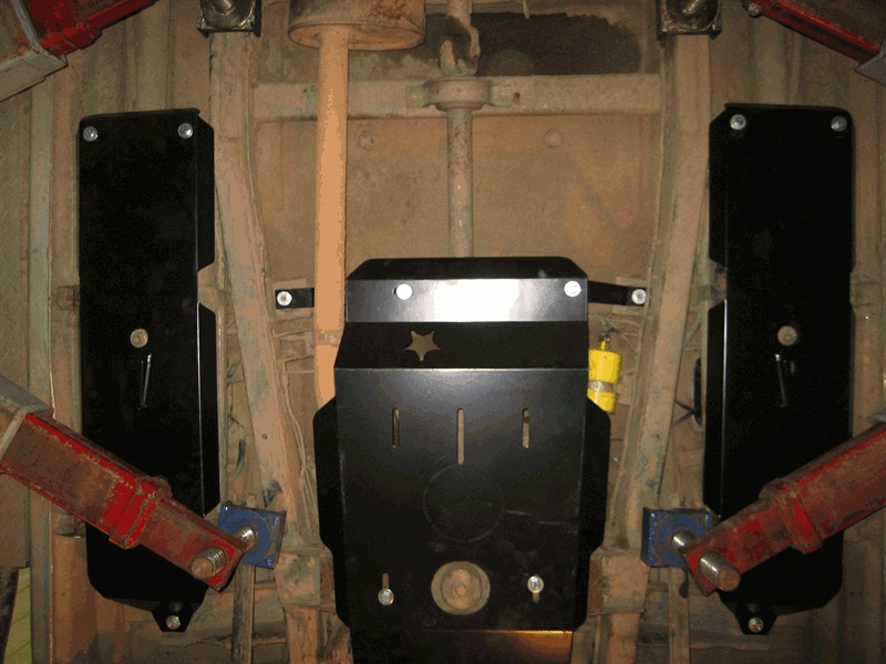Защита двигателя уаз